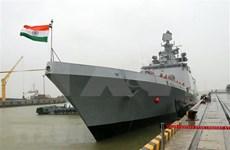 印度护卫舰萨雅德里号访问岘港市