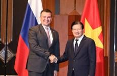 越俄政府间联合委员会第22次会议在河内举行