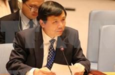 越南在联合国安理会关于妇女、和平与安全公开辩论会上积极建言献策