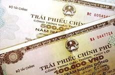 越南政府债券招标发行计划完成率达70%