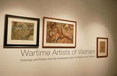 越南军队文艺工作者艺术展在新加坡举行