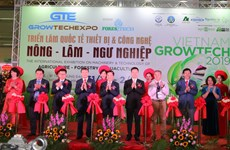 Vietnam Growtech 2019展览会在河内开展