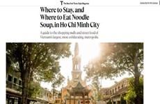 胡志明市荣登美国《纽约时报时尚杂志》