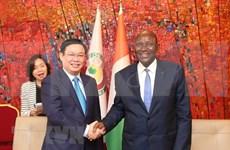 加强越南与科特迪瓦的合作关系