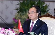 越南政府总理阮春福出席第35届东盟峰会全体会议