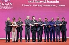 越南政府总理阮春福出席第35届东盟峰会开幕式