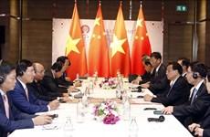 越南政府总理阮春福会见中国国务院总理李克强