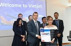 越捷航空与空客公司签署20架A321XLR客机采购协议