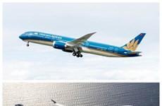 越航与法航之间的联营航班旅客数量近62.5万人次