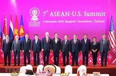 第35届东盟峰会:越南政府总理阮春福出席第7次东盟-美国领导人会议