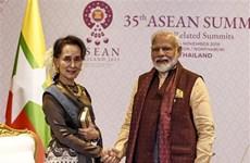 第35届东盟峰会:印度与缅甸讨论深化双方关系措施