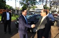越南政府副总理王廷惠对南非进行工作访问