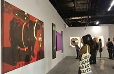 亚洲优秀画家的作品展在河内举行