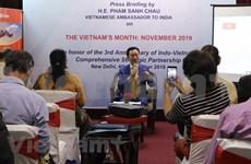 """印度""""越南月""""活动深化越印两国合作"""