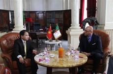 越南出席在阿尔及利亚举行的2019第八届国际渔业和水产养殖业展