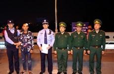 成功救起在越中边境北仑河上遇险的一名中国公民