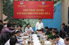 政府副总理郑廷勇主持召开视频会议 部署第六号台风应对工作