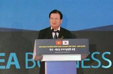 越南政府副总理郑廷勇:政府一直努力为外国投资商创造最为便利条件