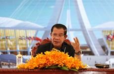 柬埔寨首相启动价值为600亿美元的《2019至2023年国家发展战略计划》