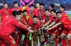 东南亚足球奖:越南男足荣膺年度最佳球队