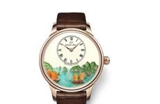 瑞士表雅克德罗即将推出一款盘面有下龙湾美景的独家特别版腕表