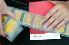 11月13日越南国内黄金价格略增