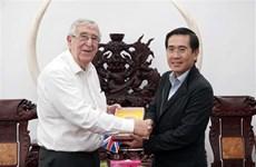 英国阿伯丁市代表团赴宁顺省寻找合作商机