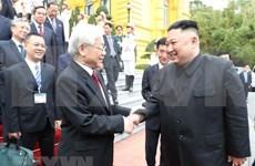 朝鲜《劳动新闻》歌颂朝越关系