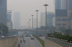 越南首都河内空气质量持续恶化