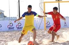 2019年东南亚沙滩足球锦标赛:越南队以7比5战胜中国队