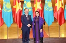 哈萨克斯坦议会下院议长尼格马图林圆满结束对越南的正式访问