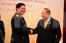 吴春历出席第六届东盟防长会议和东盟防长扩大会议
