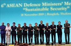 东盟防长扩大会议:尊重国际法保障地区和平稳定