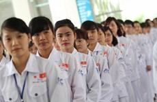 在日越南劳工人数位居第一