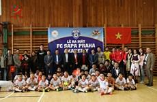 布拉格沙巴足球俱乐部和青少年足球培训中心正式亮相