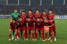 越南队今晚(19日)主场迎战泰国队