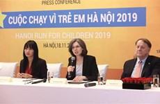 """加拿大驻越南大使黛博拉·保罗参加2019年""""关爱儿童慈善义跑"""""""