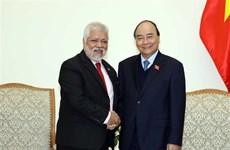 越南政府总理阮春福会见委内瑞拉驻越大使