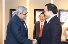 越南共产党与法国共产党加强合作