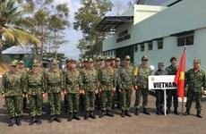 越南参加第29届东盟军用枪械射击比赛