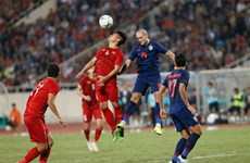 越南国足在国际足联11月排名中位居第94位