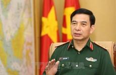 越南人民军高级军事代表团对印度进行正式访问