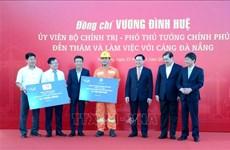王廷惠副总理在岘港港口调研