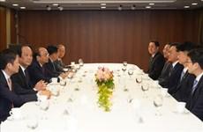 阮春福总理:越南发展潜力是韩企加大对越投资的有利条件