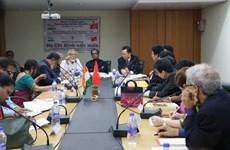 关于越南印度关系与胡志明主席烙印的研讨会在印度举行
