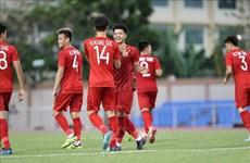 第三十届东南亚运动会男足比赛: 越南队6-0击败文莱队