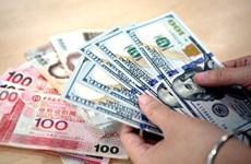 11月26日越盾对美元汇率中间价上调3越盾
