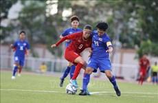 第30届东南亚运动会:越南女足队与泰国队握手言和