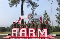 越南代表团在AARM 29比赛中排名第三