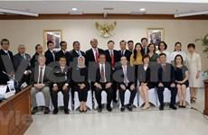 越南国家审计署代表团对印尼进行工作访问
